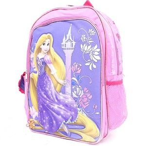 Rapunzel Backpack- Castle With Flowers